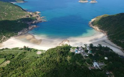 Helicopter ride Sai Wan